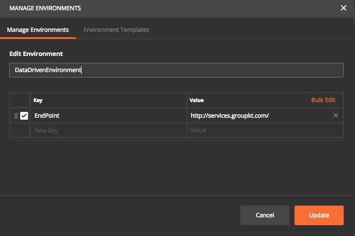 Postman - Using Data File - Aby George A